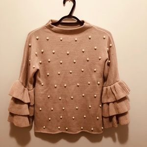 Sweaters - Beautiful pearl knit sweater